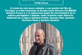 Mesa redonda en torno a la figura de Antonio Franco para celebrar el Día de Portugal