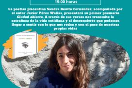 """Presentación de """"Ciudad abierta"""", de Sandra Benito"""