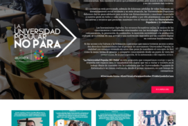"""AUPEX hace balance de los primeros meses de actividad de """"La Universidad Popular NO PARA"""""""